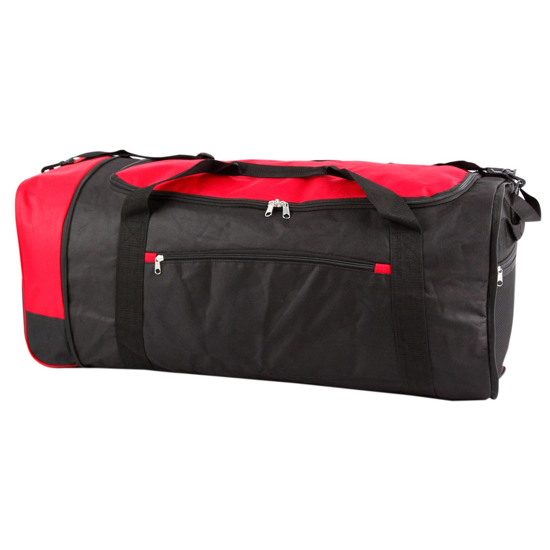 2e70ca58c9fd Details about Wheeled Sports Holdall Yoga Bag Gym Travel 80L Foldaway Hand  Luggage Lightweight