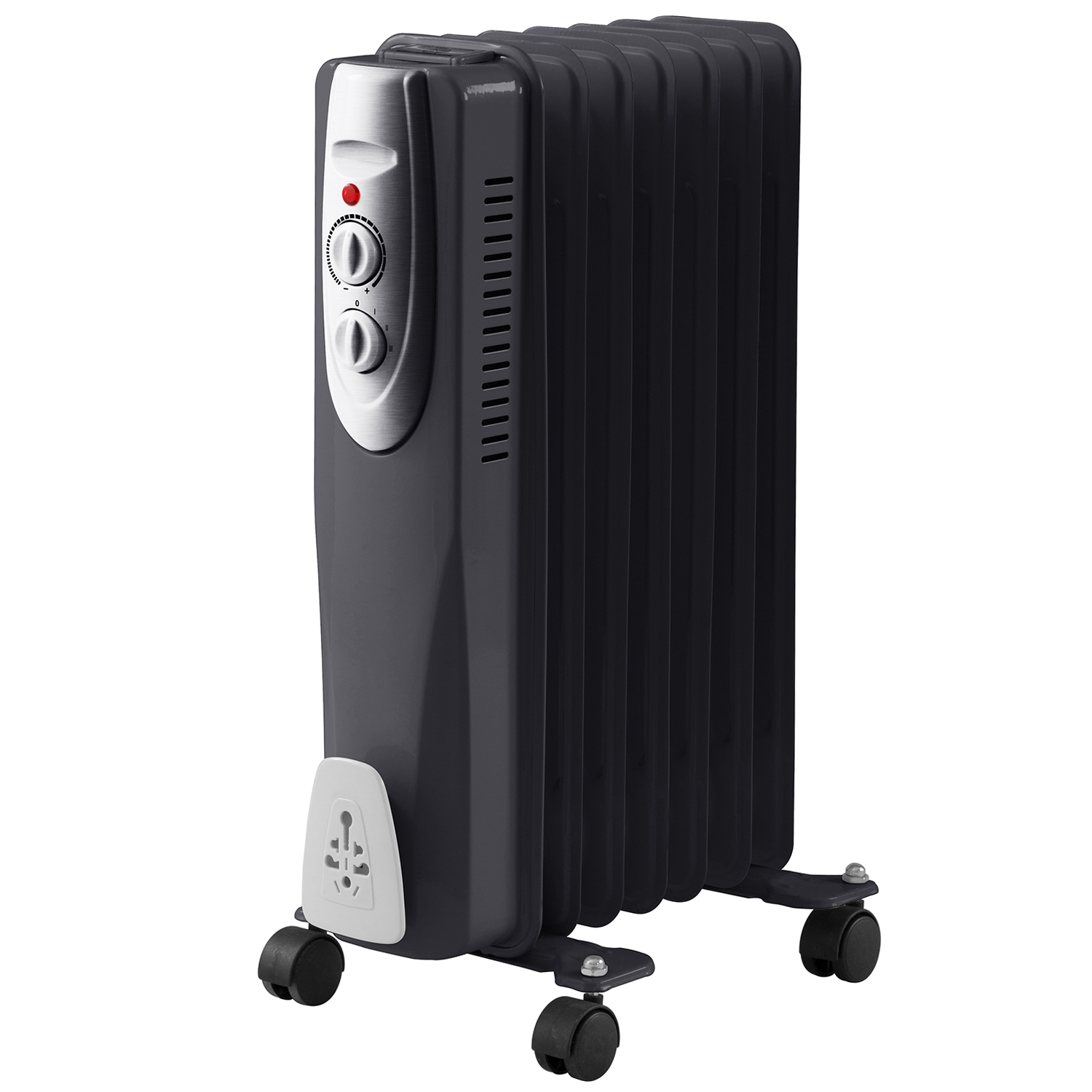 7 Fin 1500w Oil Filled Radiator Heater 1 5kw Portable